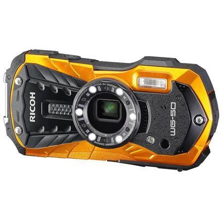 ricoh wg 50 digital camera, waterproof to 45', shockproof
