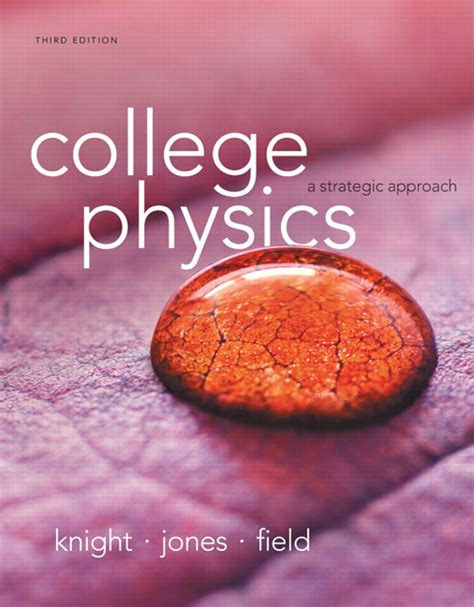 Pdf College Physics Strategic Approach 3rd by Jones Field College Physics A Strategic