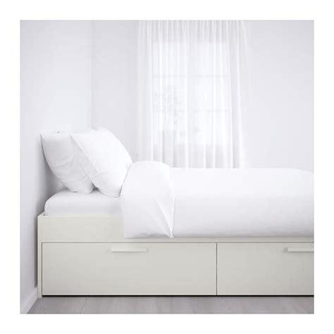brimnes letto ikea brimnes cadre lit avec rangement 160x200 cm ikea