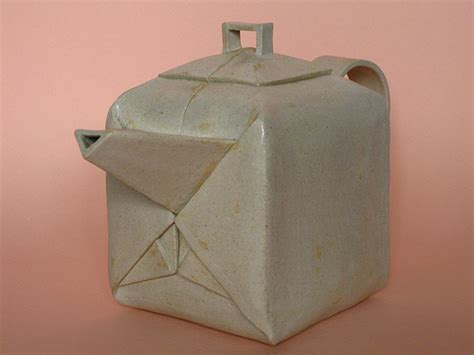 Origami Teapot - origami teapot set flickr photo