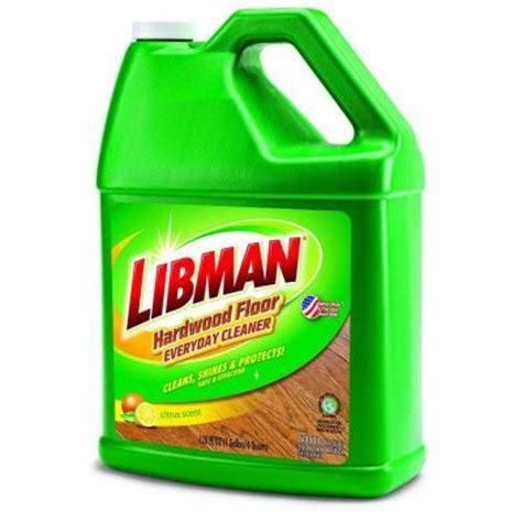 libman 128 oz hardwood floor cleaner 2052 the home depot