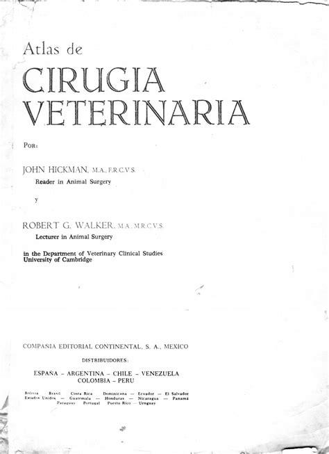 Atlas cirugía veterinaria by Odaizi Teles - Issuu