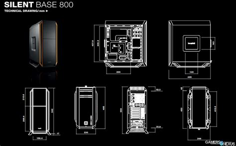 D1163 Be Gaming Silent Base 800 With Side Wind C1163 be silent base 800 high end specs announced