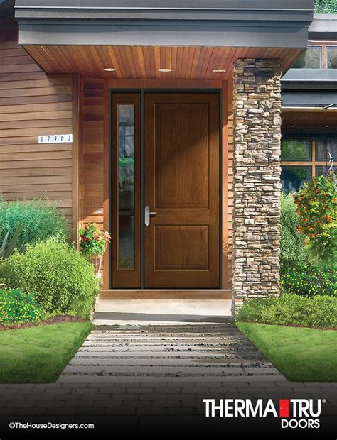 energy exterior doors 3 0 quot x 8 0 quot therma tru classic craft rustic collection
