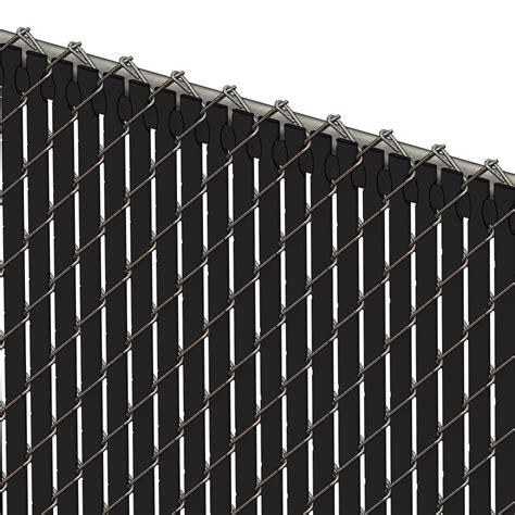 pexco fence slats pds tl chain link fence slats top lock 5 foot black