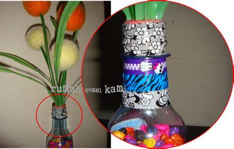 Lemari Kayu Ker rumah comel kami diy botol bunga