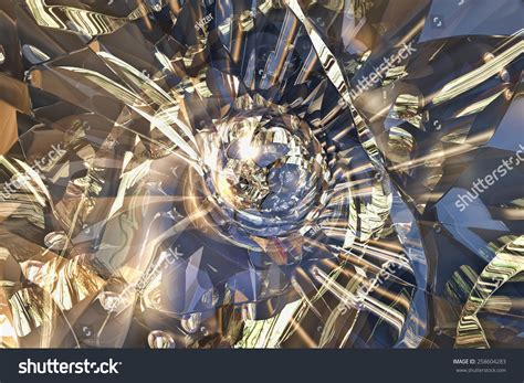 graphic design glass effect broken glass graphic design rendering fractal effect