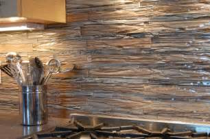 Stainless Tiles For Backsplash - backsplash tile detail contemporary kitchen other metro by cathy driftmier