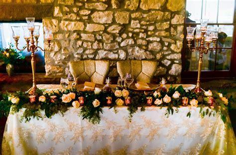 cambridge mill wedding decor head table