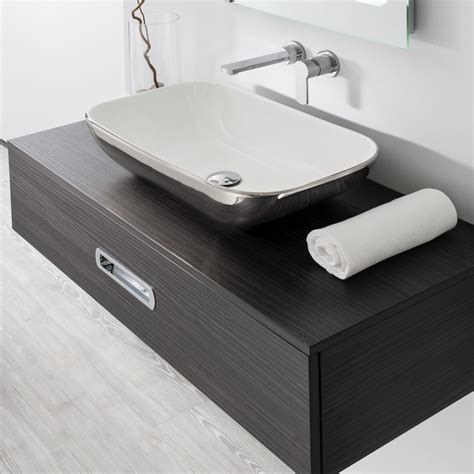 Vitra Vanity Bauhaus Serene Countertop Basin Uk Bathrooms