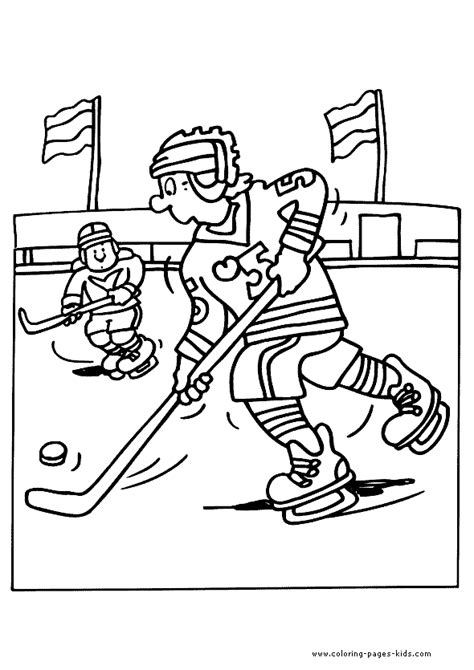floor hockey coloring pages ice hockey winter sports color page sports coloring pages