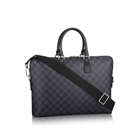 Louis Vuitton Porte 23355 louis vuitton porte documents jour in gray for monogram macassar canvas lyst