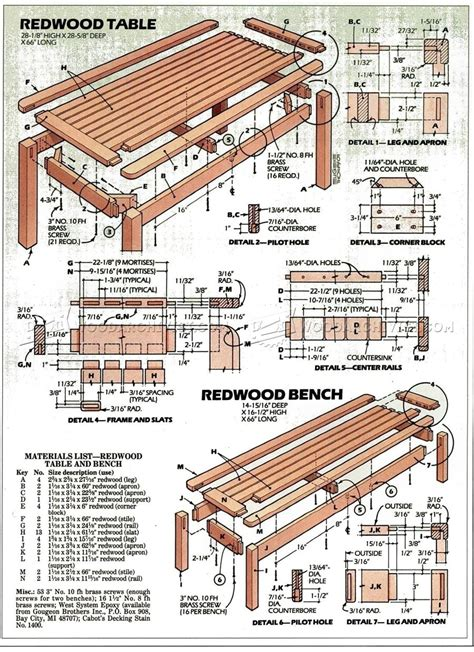 table and bench plans outdoor table and bench plans woodarchivist