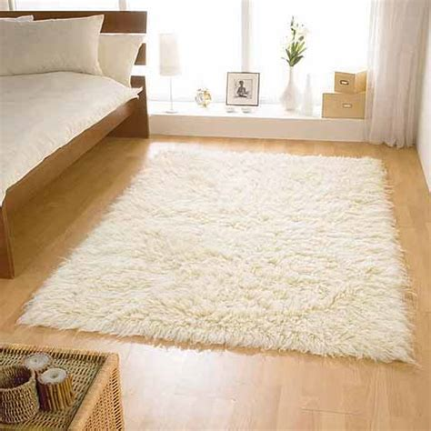 bedroom flokati rugs