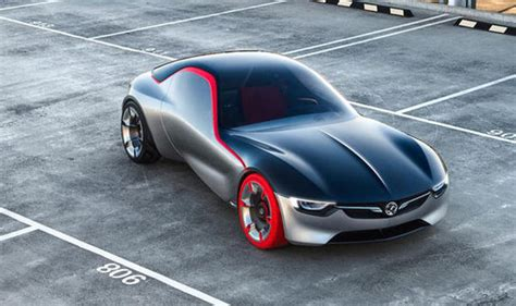 Opel Sports Car by Vauxhall Reveals Futuristic Sports Car Concept Express Co Uk