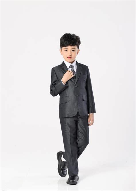 Blazer Laki Laki Khusus Anak Anak Pakaian Pakaian Jas 2 7 Year Anak Laki
