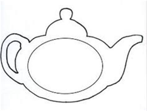 Teacup Outline Drawings by Printable Teacup Template Tea Pot Box Templates Invitation Templates Design Paper