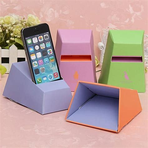How To Make A Paper Phone Easy - 20 cool and simple diy iphone speaker ideas teenagers