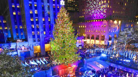 rockefeller center christmas tree wallpaper rockefeller tree lighting time lapse nbc bay area