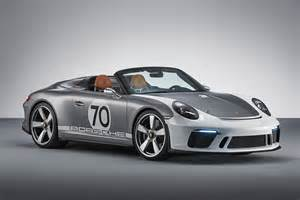 New Porsche by New Porsche 911 Speedster Revealed Celebrating 70 Years
