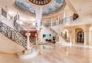 2 Story Foyer Chandelier Un Villa Da Ricchi In Texas Casa It