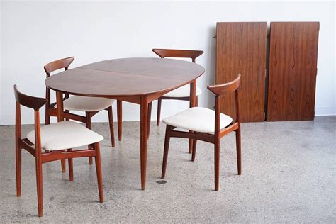 danish modern dining room set convertible danish modern dining set for sale at 1stdibs