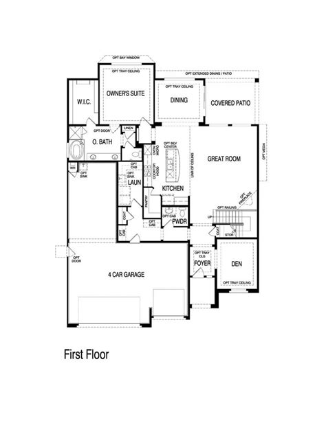 32 best images about pulte homes floor plans on