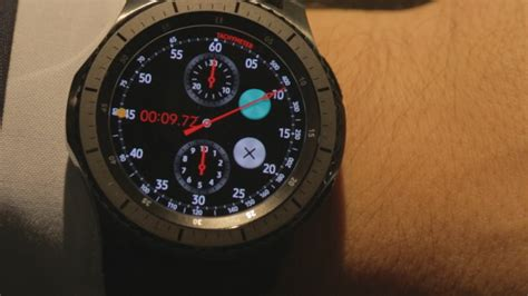 Smartwatch Samsung S3 samsung goes to the with its gear s3 smartwatch