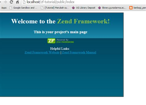 tutorial membuat web dengan zend framework install zend framework 1 12 in windows 7 latcoding com