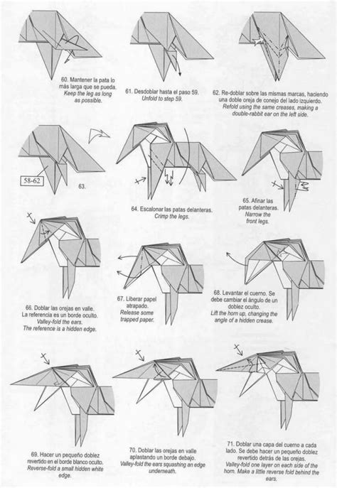 How To Make Origami Unicorn - unicorn origami tutorial xinblog craft ideas