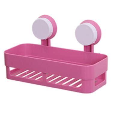 Tempat Sabun Dan Sponge Gantung Kamar Mandi Dapur Hkn036 0dkk jual homestuff rak persegi serbaguna untuk tempat sabun kamar mandi dan dapur pink