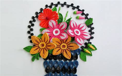 How To Make Paper Quilling - paper quilling how to make beautiful quilling flower
