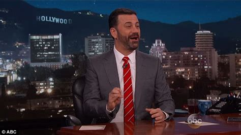 did jimmy kimmel get a hair transplant 2015 jimmy kimmel continues to show off his facial hair with