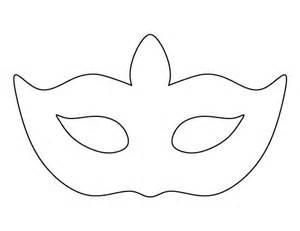 Masks For Templates by Masquerade Mask Pattern Use The Printable Outline For