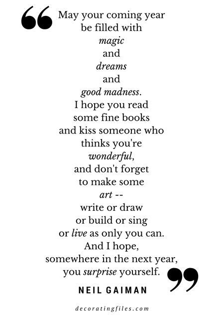 neil gaiman new year quotes 2015