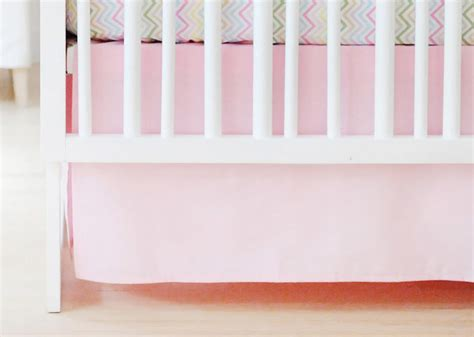 pink crib skirt pink tailored crib skirt crib skirt pink