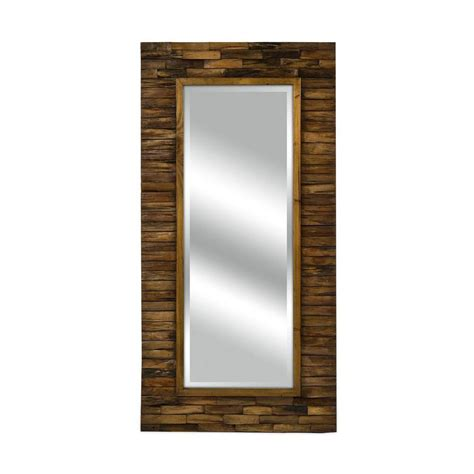 home decorators collection mirrors home decorators collection dawson 48 in x 24 in wood framed mirror 1269700820 the home depot