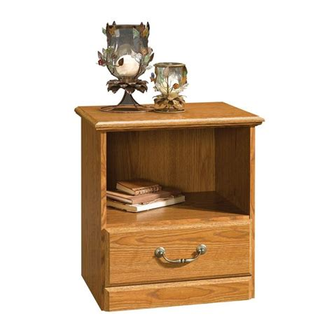 Light Oak Nightstand Light Oak Finish Nightstand For Classic And Stylish Bedroom