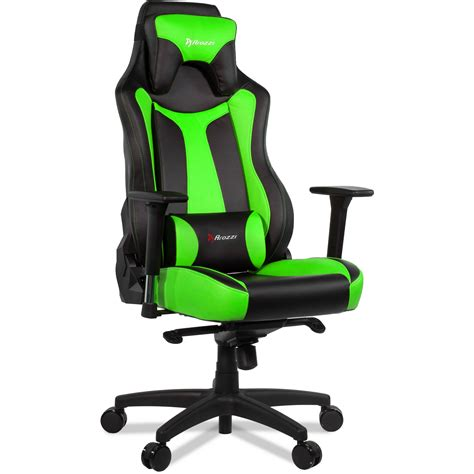 Green Gaming Chair by Arozzi Vernazza Gaming Chair Green Vernazza Gn B H Photo