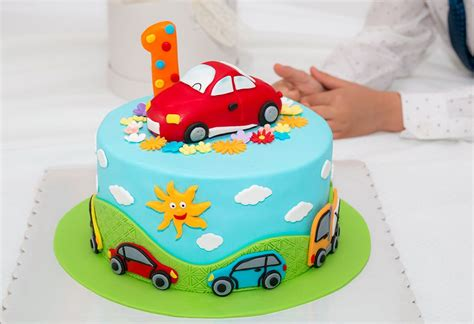 creative ideas  st birthday cakes  baby boys girls