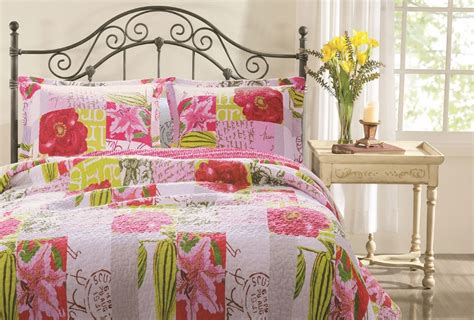 shabby chic quilt sets letters pink shabby chic quilt set