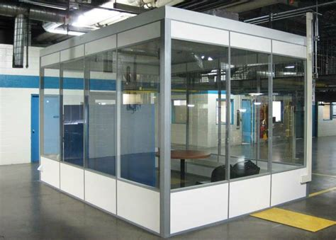 demountable walls a clear solution for in plant modular