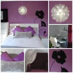 bedroom design excellent black white purple bedroom with