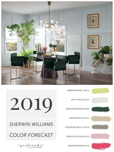 2019 paint color forecast from sherwin williams diy