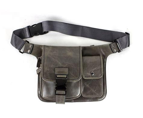 Cowhide Leather Bag Bum Bag Cool Pack Bagswish