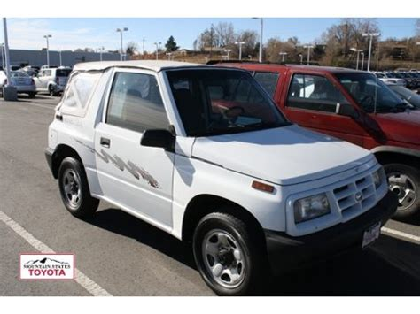 used 1997 geo tracker soft top 4x4 for sale stock #