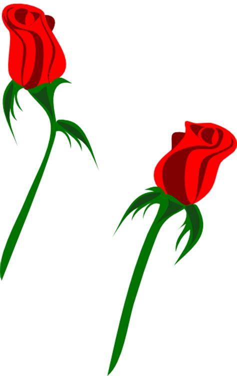red rose buds clip art  clkercom vector clip art