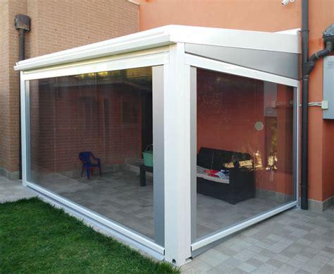 tettoie in alluminio tettoie in alluminio con tende a rullo venezia
