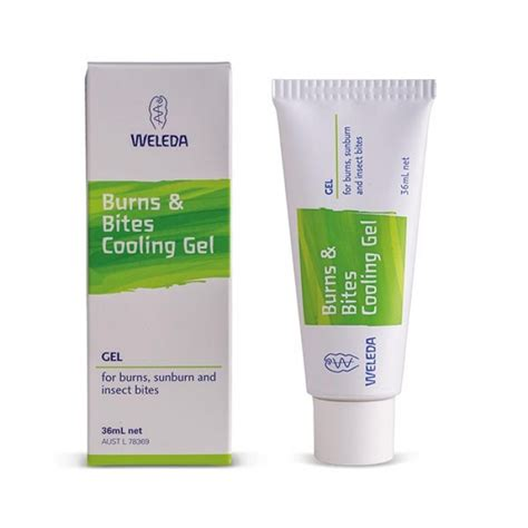 gel weleda weleda burns bites cooling gel healthpost nz