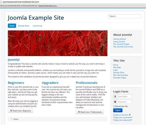 joomla website tutorial video tutorial to install joomla 3 1 on webhost learn web